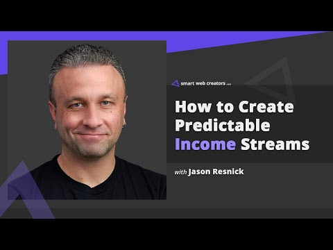 Building predictable income streams of online work with Jason Resnick