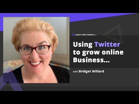 Ready your Twitter for more business growth with Bridget Willard