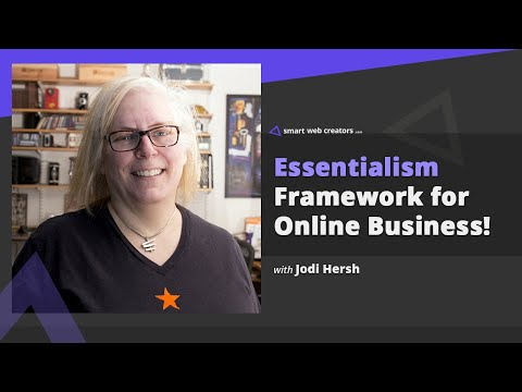 Essentialism framework to manage multiple businesses & clients with Jodi Hersh