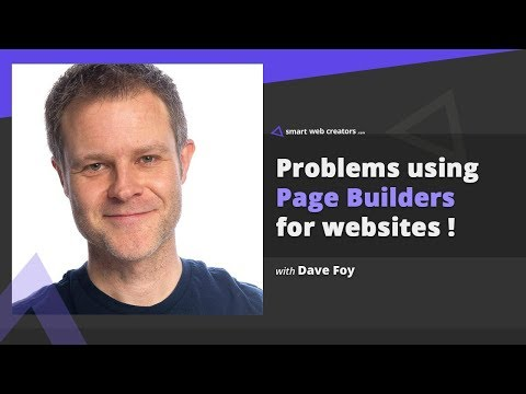 Problems building websites using page builders with Dave Foy
