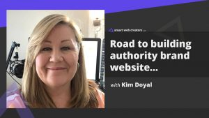 Kim Doyal Authority Brand Website