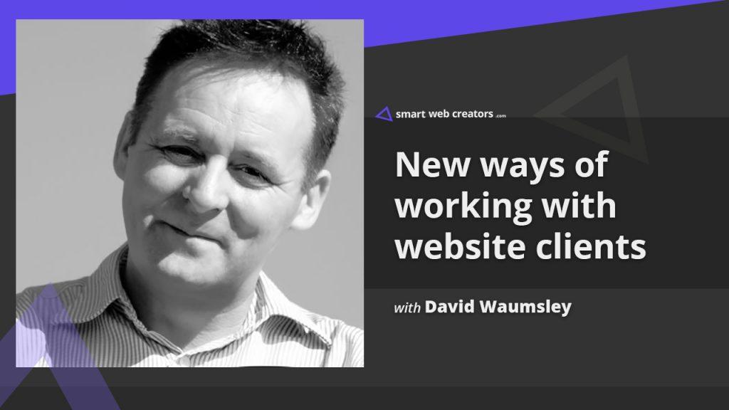 David Wamusley building client websites