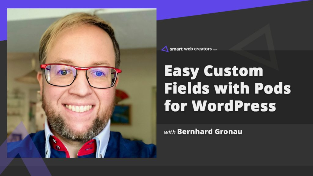 Bernhard Gronau Pods Plugin WordPress