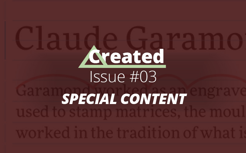 Created Issue #03 Special Content