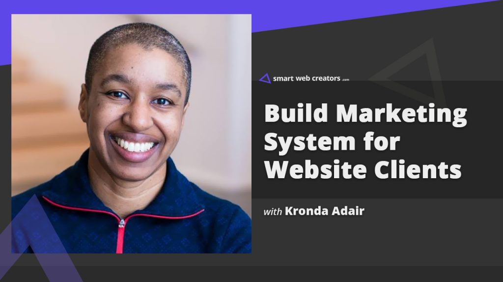 Kronda Adair Marketing System Client Websites