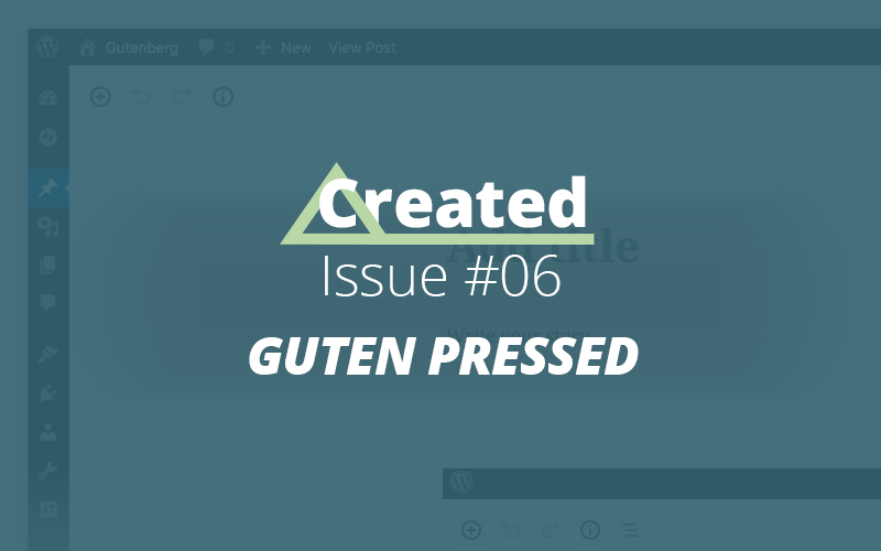Created Issue #06 Guten Pressed