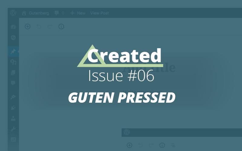 Created Issue #06 Guten Pressed