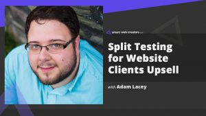 Adam Lacey Split Testing Website Split Hero