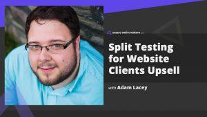 Adam Lacey Split Testing Website Split Hero