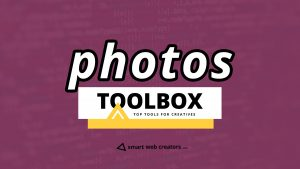 Photos Toolbox for free stock photos, editing tools