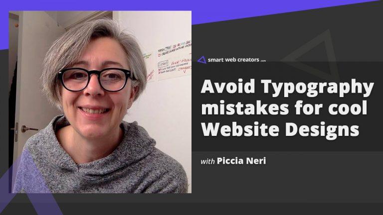 Piccia Neri Typography Mistakes