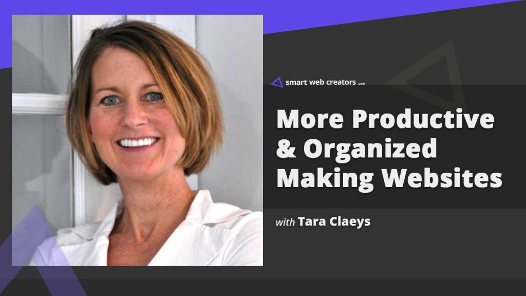 Organized Productivity Tara Claeys building websites