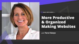 Organized Productivity Tara Claeys building websites
