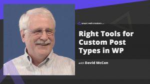 david mccan wordpress cpt