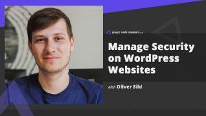oliver sild wordpress security