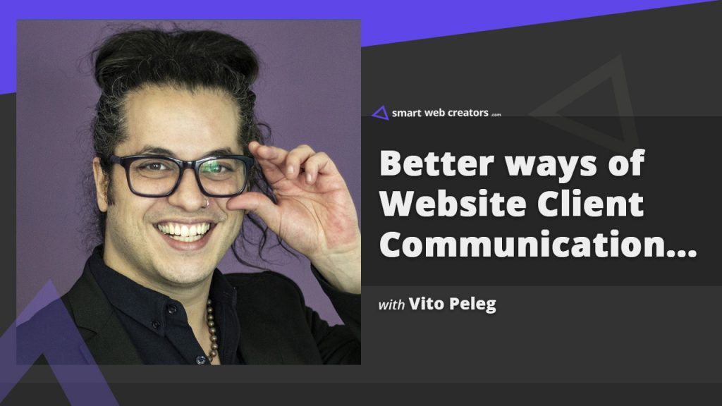 vito peleg website communication feedback