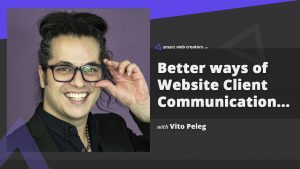 vito peleg website communication feedback