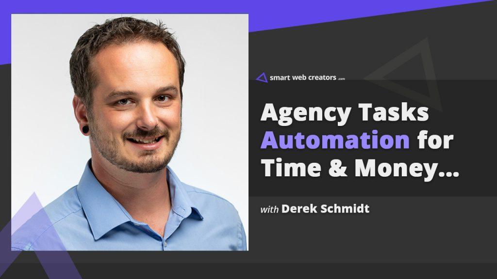 Derek Schmidt tasks automation