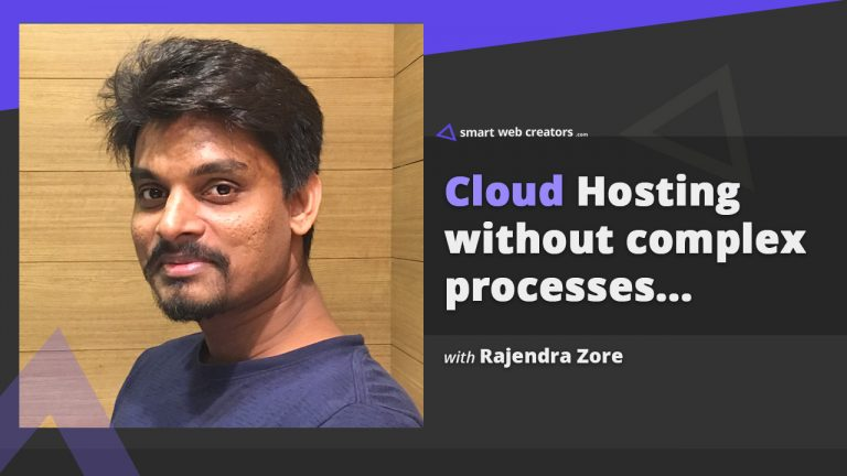 Rajendra Zore cloud web hosting