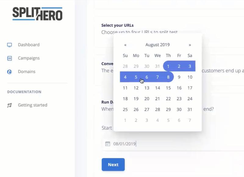 split hero campaign dates