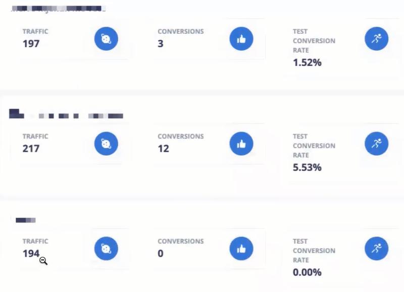 SplitHero conversion reports
