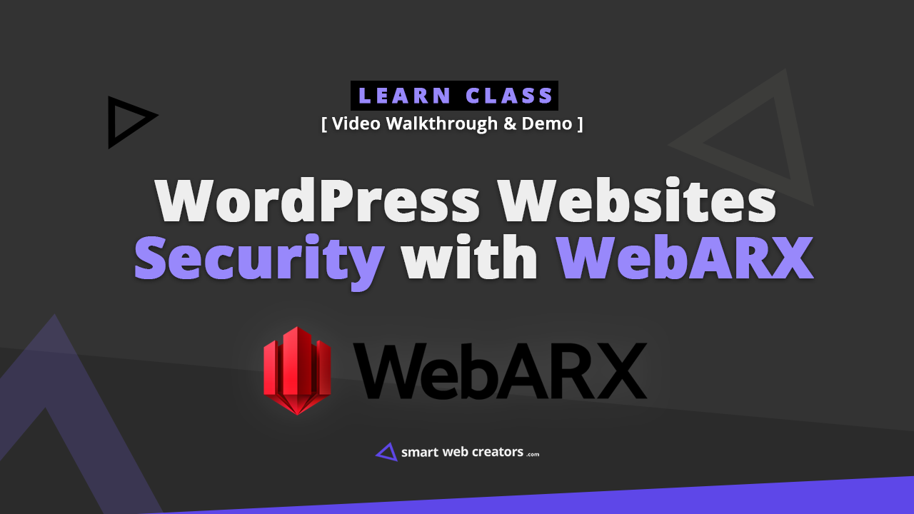 webarx wordpress websites security