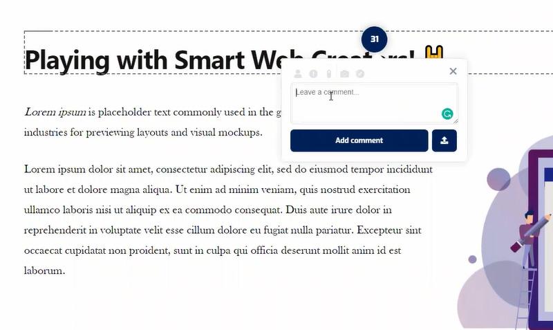 using wpfeedback tool