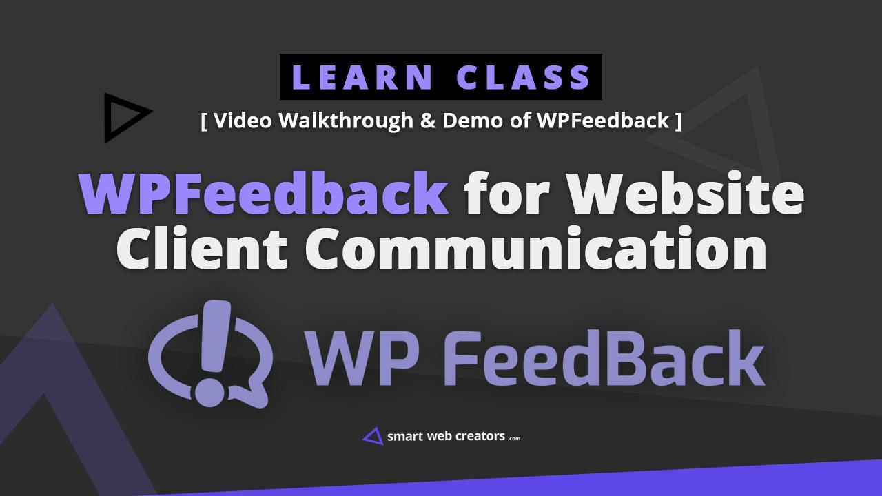 wpfeedback video demo