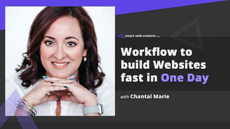 Chantal Marie build websites
