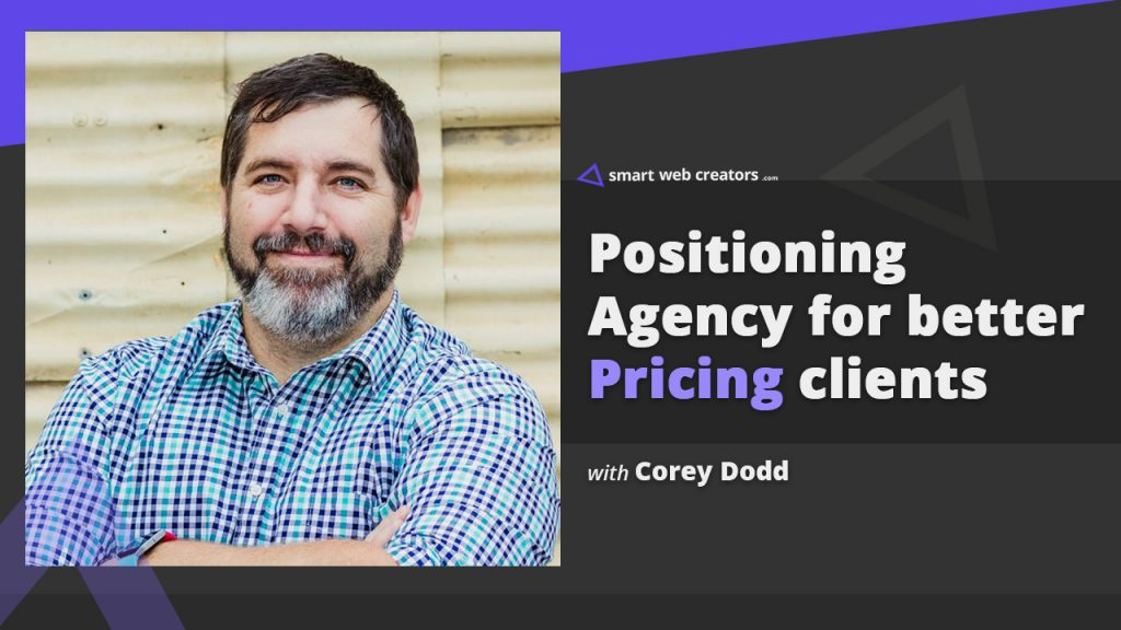 corey dodd agency pricing clients