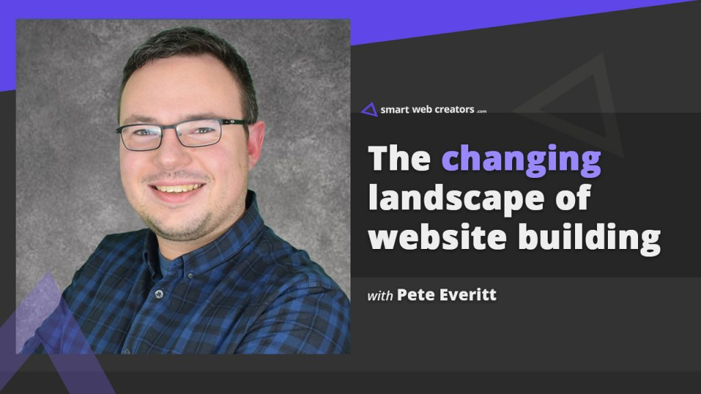 Pete Everitt website building