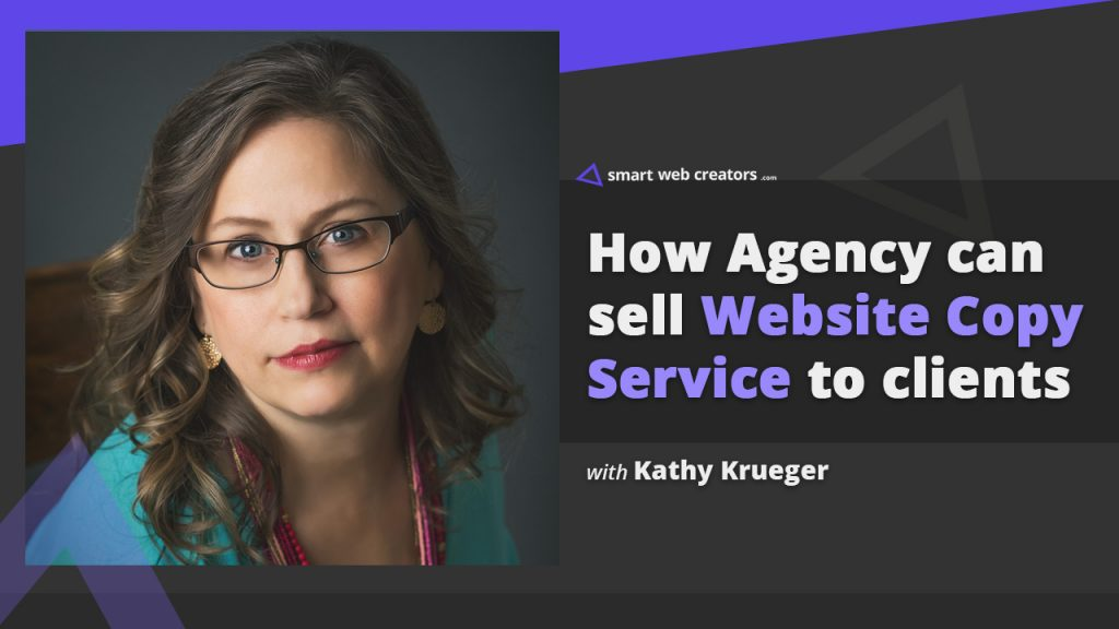 Kathy Krueger website copy service