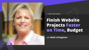 Beth Livingston website project management