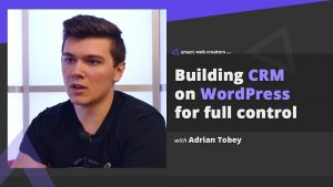 Adrian Tobey crm wordpress