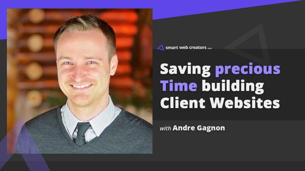 Andre Gagnon client websites