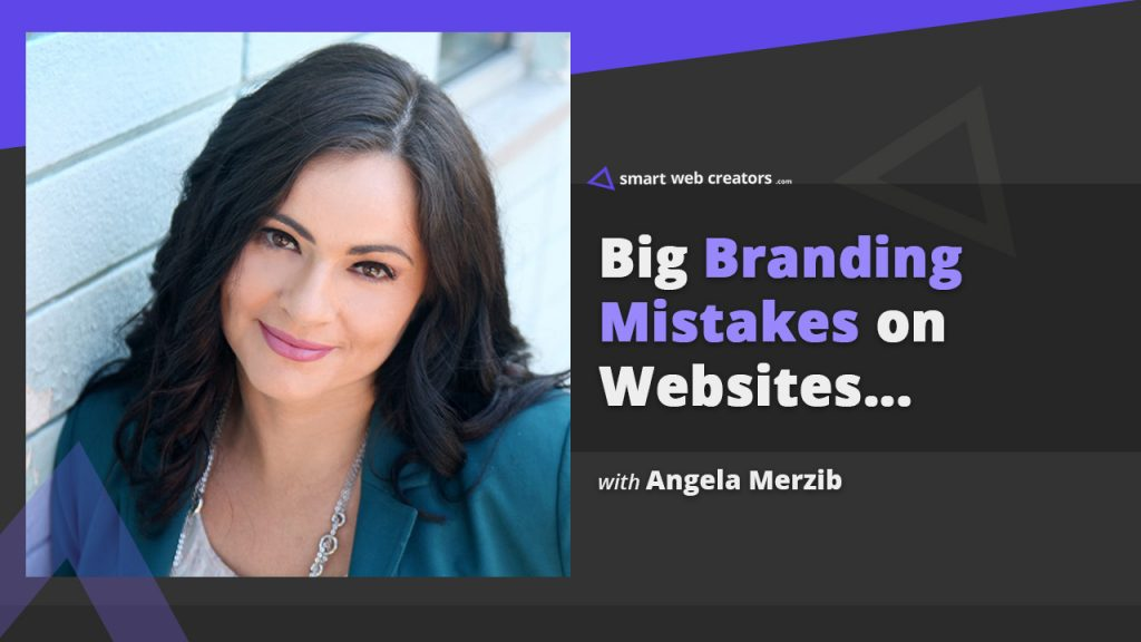 angela merzib branding websites